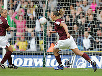 Arsenal vs Leeds United - Womens FA Cup Final at Millwall Football Club - 01/05/06 - Lianne Sanderson makes it 5-0 to Arsenal - (Gavin Ellis 2006)