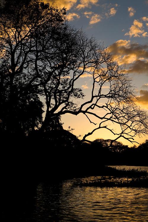 Sunset on Lago Cocibolca, Las Isletas, Granada, Nicaragua