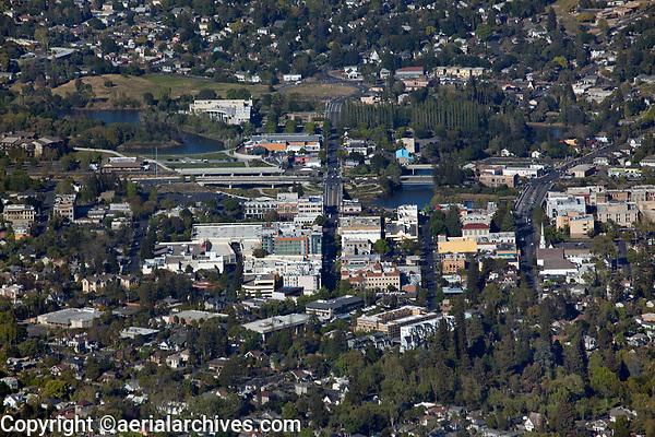 aerial photograph of Napa, California
