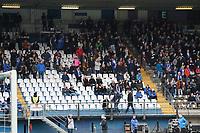 Leere Ränge im Stadion am Böllenfalltor - 29.02.2020: SV Darmstadt 98 vs. 1. FC Heidenheim, Stadion am Boellenfalltor, 24. Spieltag 2. Bundesliga<br /> <br /> DISCLAIMER: <br /> DFL regulations prohibit any use of photographs as image sequences and/or quasi-video.