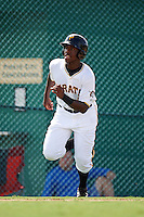 GCL Pirates third baseman Ke'Bryan Hayes (6) running the bases during the first game of a doubleheader against the GCL Yankees 2 on July 31, 2015 at the Pirate City in Bradenton, Florida.  GCL Pirates defeated the GCL Yankees 2 2-1.  (Mike Janes/Four Seam Images)