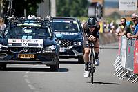 Cees Bol (NED/DSM)<br /> <br /> Stage 20 (ITT) from Libourne to Saint-Émilion (30.8km)<br /> 108th Tour de France 2021 (2.UWT)<br /> <br /> ©kramon