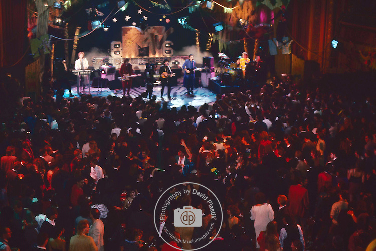 The Hooters 1983 MTV New Years Ball at The Ritz , NYC