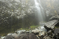 Earland Falls on Routeburn Track, Fiordland National Park, Southland, South Island, UNESCO World Heritage Area, New Zealand, NZ