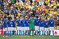 Actio photo during the match Brasil vs Ecuador, at Rose Bowl Stadium Copa America Centenario 2016. ---Foto  de accion durante el partido Brasil vs Ecuador, En el Estadio Rose Bowl, Partido Correspondiante al Grupo -B-  de la Copa America Centenario USA 2016, en la foto: Brasil<br /> --- 04/06/2016/MEXSPORT/ Osvaldo Aguilar
