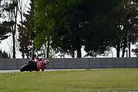 31st  March 2021; Barcelona, Spain; World Superbike testing at Circuit Barcelona-Catalunya;   Petr Svodova (CZE) riding Yamaha YZF-R3 from WRP Wepol Racing