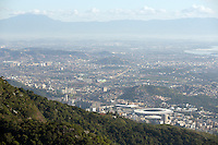 A general view of Rio de Janeiro and the Maracana stadium from the Christ the Redeemer statue