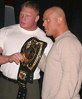 Wrestlemania XIX Press Conference  Brock Lesnar 2003                                                                          By John Barrett/PHOTOlink