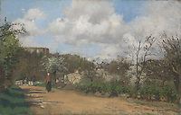 Full title: View from Louveciennes<br /> Artist: Camille Pissarro<br /> Date made: 1869-70