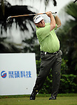 TAIPEI, TAIWAN - NOVEMBER 18:  David Merriman of Australia tees off on the 11th hole during day one of the Fubon Senior Open at Miramar Golf & Country Club on November 18, 2011 in Taipei, Taiwan. Photo by Victor Fraile / The Power of Sport Images