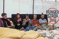 2021/09/15 Politik   Berlin   Hungerstreik fuer Klimaschutz