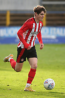Max Haygarth of Brentford, on loan from Manchester United during Watford Under-23 vs Brentford B, Friendly Match Football at Clarence Park on 24th November 2020