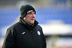 St Johnstone Training…12.12.17<br />Manager Tommy Wright pictured during training this morning at McDiarmid Park ahead of tomorrow's game against Aberdeen<br />Picture by Graeme Hart.<br />Copyright Perthshire Picture Agency<br />Tel: 01738 623350  Mobile: 07990 594431