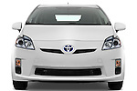Straight front view of a 2010 Toyota Prius 2