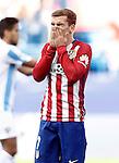 Atletico de Madrid's Antoine Griezmann dejected during La Liga match. April 23,2016. (ALTERPHOTOS/Acero)