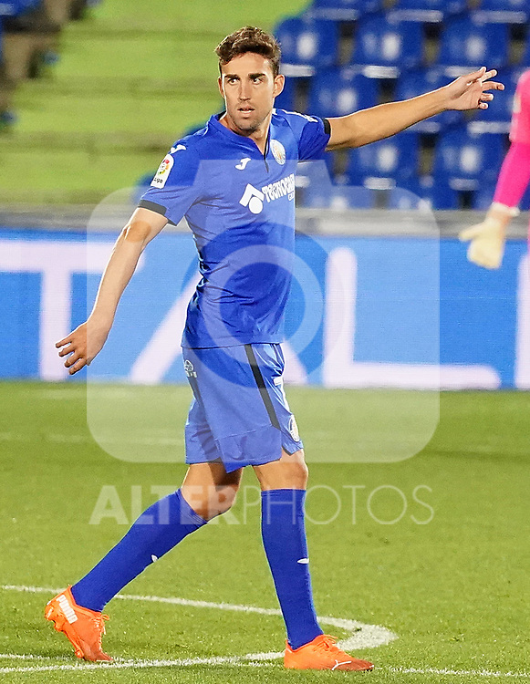 Getafe CF's Jaime Mata during La Liga match. September 29,2020. (ALTERPHOTOS/Acero)