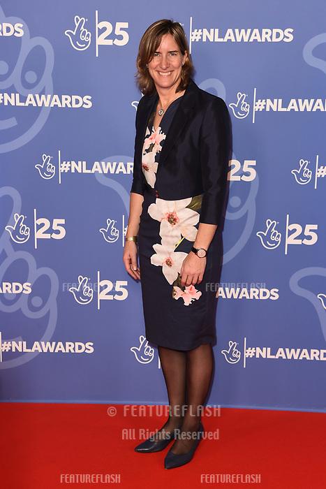 LONDON, UK. October 15, 2019: Katherine Grainger at the National Lottery Awards 2019, London.<br /> Picture: Steve Vas/Featureflash