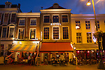 Netherlands, Haarlem.  Personal Icons.<br /> Dining at the Amadeus Hotel in Haarlem, Netherlands. Take a more personal 'souvenir photo' of your hotel for yourself, family and social media.