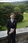 Bruce Levingston at Kykuit prior to his recital in honor of David Rockefeller's 100th birthday.