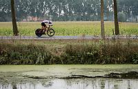 Alexandre Balmer (SUI)<br /> <br /> World Championships U23 Men - ITT <br /> Time Trial from Knokke-Heist to Bruges (30.3km)<br /> <br /> UCI Road World Championships - Flanders Belgium 2021<br /> <br /> ©kramon