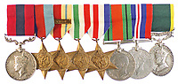 BNPS.co.uk (01202 558833)<br /> Pic: Warwick&Warwick/BNPS<br /> <br /> The family of a hero tank commander who destroyed 10 German tanks in 48 hours of fighting Erwin Rommel's feared Afrika Corps are selling his gallantry medals.<br /> <br /> Lieutenant Harold Allan was awarded an immediate Distinguished Conduct Medal following his heroics in the North Africa campaign in the Second World War.<br /> <br /> During Operation Crusader - the Allied offensive to relieve the Siege of Tobruk - Lt Allan's Crusader tank weaved in an out of Rommel's Panzers in the desert.<br /> <br /> Thanks to his skill and tactical nous, his tank engaged the enemy at close range and was able to take out six tanks on the first day and several more two days later.