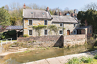 BNPS.co.uk (01202) 558833. <br /> Pic: TimHardy/KnightFrank/BNPS<br /> <br /> Pictured: Beck Cottage. <br /> <br /> A traditional country cottage in a hidden valley surrounded by its own woodland is on the market for offers over £700,000.<br /> <br /> Beck Cottage sits in a stunning position with a stream that has fishing rights and an idyllic private natural pool with a waterfall.<br /> <br /> Estate agent Knight Frank say it is a rare opportunity for someone to get their own bit of unspoilt England as the cottage is on the market for the first time in about 70 years.<br /> <br /> The five-bedroom property is close to the seaside town of Whitby and the North York Moors National Park.
