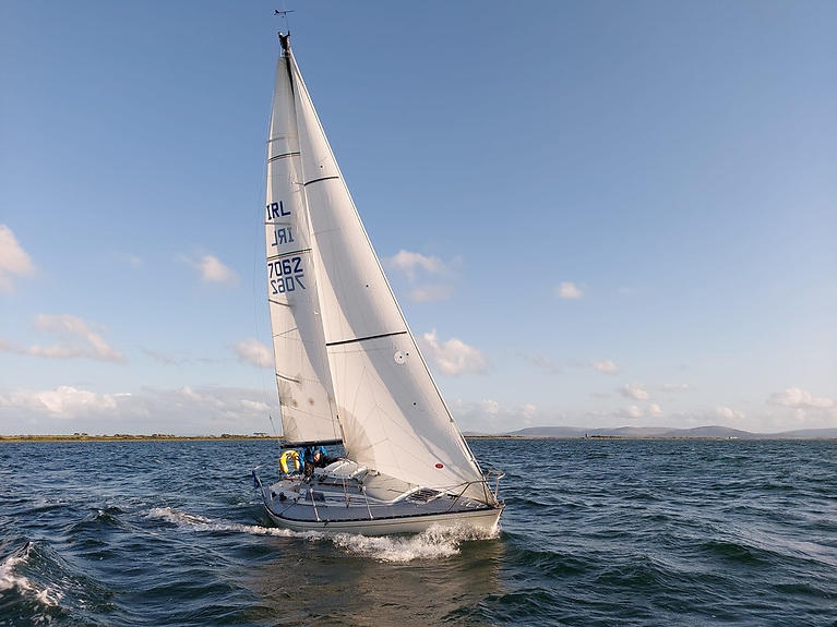 Viking Lass is a competitor in GBSC's McSwiggan's Series on Galway Bay