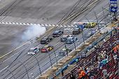 #12: Ryan Blaney, Team Penske, Ford Mustang Menards /Sylvania beats #47: Ricky Stenhouse Jr., JTG Daugherty Racing, Chevrolet Camaro NOS Energy Drink to the checkered flag