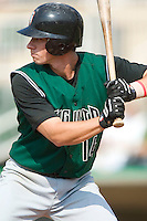 Augusta shortstop Anthony Contreras (14) stands in to take his swings versus the Kannapolis Intimidators at Fieldcrest Cannon Stadium in Kannapolis, NC, Sunday, June 18, 2006.
