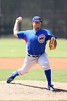 Ryan Searle, Chicago Cubs 2010 minor league spring training..Photo by:  Bill Mitchell/Four Seam Images.