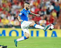 Italy's Lorenzo Insigne during FIFA World Cup 2018 Qualifying Round match. September 2,2017.(ALTERPHOTOS/Acero)