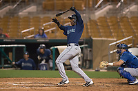 Seattle Mariners third baseman Luis Joseph (28) during a Minor League Spring Training game against the Los Angeles Dodgers at Camelback Ranch on March 28, 2018 in Glendale, Arizona. (Zachary Lucy/Four Seam Images)