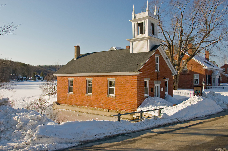Harrisville is a small town in the South West of New Hampshire that has an amazing downtown. Mostly constructed of brick, the homes and buildings still hold the charm of days gone by.
