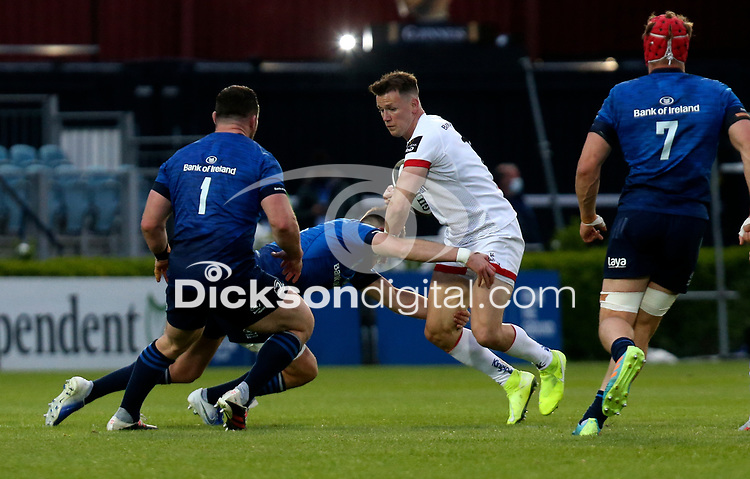Friday 14th May 2021; Craig Gilroy during the Guinness PRO14 Rainbow Cup Round 3 clash between Leinster and Ulster at The RDS Arena, Ballsbridge, Dublin, Ireland. Photo by John Dickson/Dicksondigital