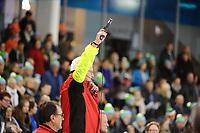 SCHAATSEN: HEERENVEEN: 29-12-2016, IJsstadion Thialf, KPN NK AFSTANDEN, starter Jan Zwier, ©foto Martin de Jong