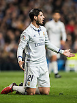 Alvaro Morata of Real Madrid reacts during the La Liga match between Real Madrid and RC Deportivo La Coruna at the Santiago Bernabeu Stadium on 10 December 2016 in Madrid, Spain. Photo by Diego Gonzalez Souto / Power Sport Images