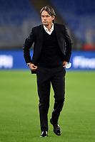 Filippo Inzaghi coach of Benevento Calcio looks on prior to the Serie A football match between AS Roma and Benevento Calcio at Olimpico stadium in Roma (Italy), October 18th, 2020. Photo Antonietta Baldassarre / Insidefoto