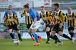 St Johnstone FC.. 2014-2015 Season<br /> Steven MacLean in action against East Fife<br /> Picture by Graeme Hart.<br /> Copyright Perthshire Picture Agency<br /> Tel: 01738 623350  Mobile: 07990 594431