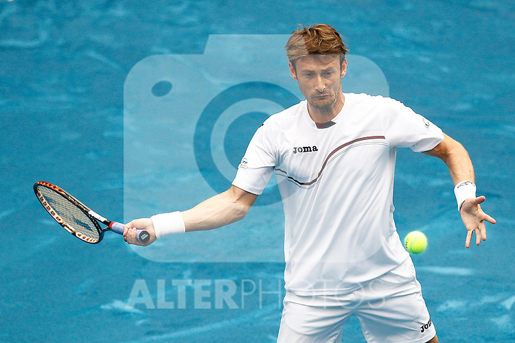Juan carlos Ferrero during Mutua Madrid Open 2012 match on may 7th 2012...Photo: Cesar Cebolla / ALFAQUI