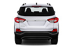 Straight rear view of a 2018 Ssangyong Rexton Sapphire 5 Door SUV stock images