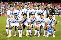 Guatemala National Team starting eleven.   The Guatemalan National Team defeated  El Salvador National Team 2-0 in a friendly international at RFK Stadium, Saturday September 7, 2010.