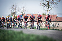 Cees Bol (NED/Team Sunweb) leading the front group<br /> <br /> 82nd Gent – Wevelgem in Flanders Fields 2019 (1.UWT)<br /> Deinze – Wevelgem: 251,5km<br /> ©kramon