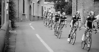 2013 Giro d'Italia .stage 03..Sir Bradley Wiggins (GBR) escorted by his teammates.