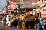 Saftbude, Platz Jeema El Fna (Platz der Gehenkten), Marrakesch, Marokko