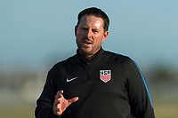Bradenton, FL - Sunday, June 12, 2018: Mark Carr during a U-17 Women's Championship Finals match between USA and Mexico at IMG Academy.  USA defeated Mexico 3-2 to win the championship.