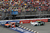 NASCAR XFINITY Series<br /> Irish Hills 250<br /> Michigan International Speedway, Brooklyn, MI USA<br /> Saturday 17 June 2017<br /> Matt Tifft, Tunity Toyota Camry Blake Koch, LeafFilter Gutter Protection Chevrolet Camaro<br /> World Copyright: Michael L. Levitt<br /> LAT Images