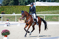 AUT-Robert Mandl rides Sacre-Coeur during the Dressage. 2021 SUI-FEI European Eventing Championships - Avenches. Switzerland. Thursday 23 September 2021. Copyright Photo: Libby Law Photography