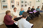 Workshop session at a London Borough of Haringey Private Sector Housing Conference at Bruce Castle Museum, North London.