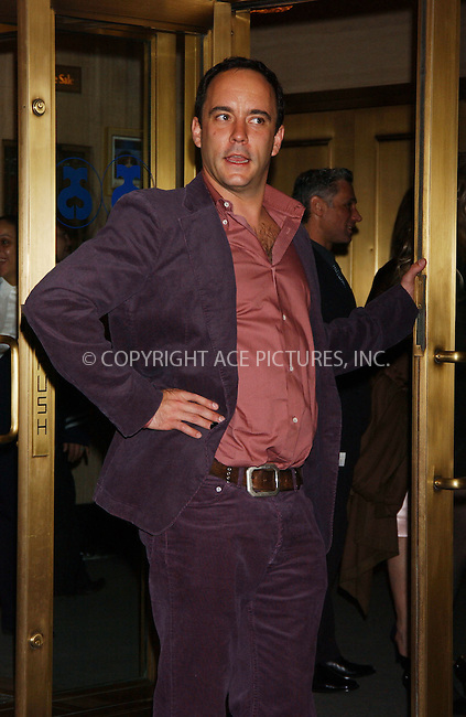 """WWW.ACEPIXS.COM . . . . . ....April 19 2006, New York City....DAVE MATTHEWS....Arrivals at the opening night of """"Three Days of Rain"""" staring Julia Roberts at the Bernard B Jacobs Theatre in midtown Manhattan....Please byline: KRISTIN CALLAHAN - ACEPIXS.COM........ . . . . . ..Ace Pictures, Inc:  ..(212) 243-8787 or (646) 679 0430..e-mail: picturedesk@acepixs.com..web: http://www.acepixs.com"""