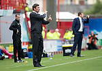 Hamilton Accies v St Johnstone…01.09.18…   New Douglas Park     SPFL<br />Accies boss Martin Canning gives instructions<br />Picture by Graeme Hart. <br />Copyright Perthshire Picture Agency<br />Tel: 01738 623350  Mobile: 07990 594431